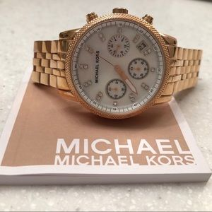 Michael Kors MK5026 Rose Gold Watch